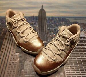 501c008407c063 Nike Womens Air Jordan XI 11 Retro Low Rose Gold Size 9.5 AH7860 105 ...