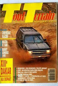 Tout-Terrain-Magazine-N-22-du-1-1991-Chevrolet-Blazer-Mazda-B-2600-Dakar-XIII