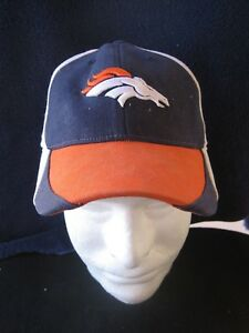 72dfd222 Details about DENVER BRONCOS REEBOK BASEBALL HAT CAP YOUTH ONE SIZE NFL  FOOTBALL