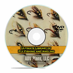 Fly-Fishing-Series-Luring-Angling-300-Books-Tackle-Reel-Making-PDF-DVD-E70