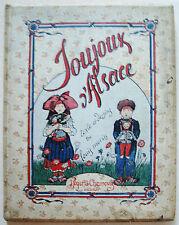 Joujoux d'Alsace Louis MORIN éd Roger et Chernoviz 1918