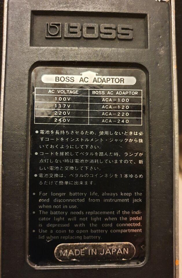 Pedal , Boss DS-1 Distortion 1982