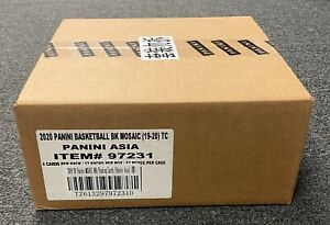 2019-20 Panini TMALL MOSAIC Basketball ASIA EXCLUSIVE SEALED Hobby Box CASE