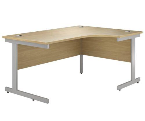 EQUINOX Cantilever Radial Desk OAK Right-Hand 1800mm