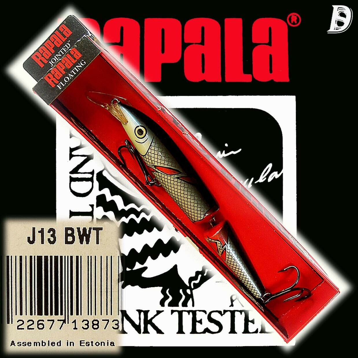 Vintage Rapala Jointed Floating 13cm Special -  BWT New in Box Estonia  here has the latest