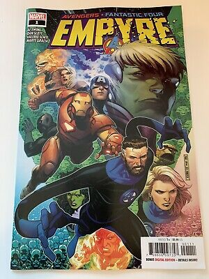 EMPYRE #1 NM//M MICHAEL CHO FANTASTIC FOUR VARIANT 7//15 2020 OF 6