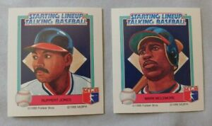 1988 Starting Lineup Talking Baseball  California Angels Baseball Card Pick one