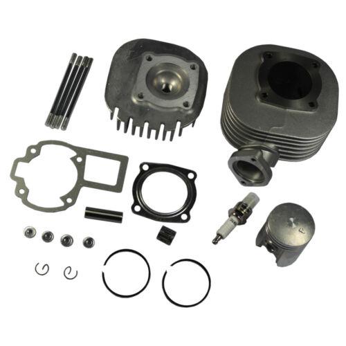 Cylinder Piston Head Gasket Ring Top End Kit for Suzuki Quadsport LT 80 87-06