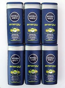 NIVEA-FOR-MEN-SHOWER-GEL-ENERGY-250ML-X-6