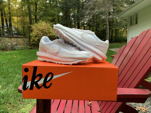 "Nike LD Waffle ""Sacai White Nylon"""