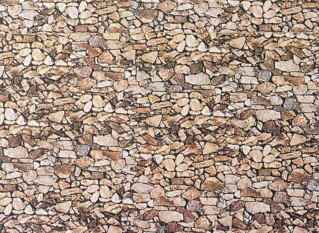 Wall Panel Natural Stone, Faller N (1:160), Item 222562