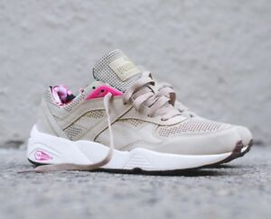 Puma R698 Tropicalia Hawaiian Khaki UK 8   EUR 42   US 9   CM 28  68c38a2a0c49