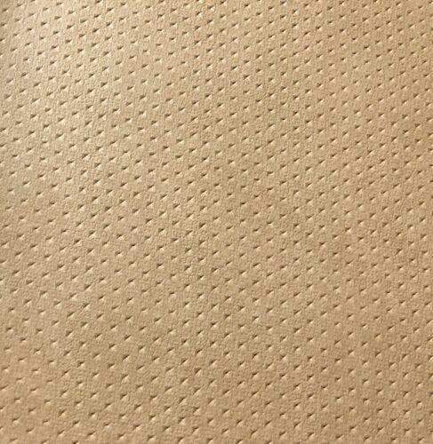 Piel sintética METERWARE beige jaspeadas con recuadro//pm asterisco perforación
