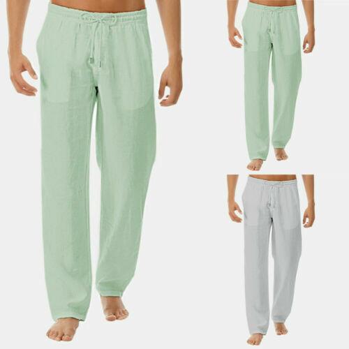 Pantalones De Hombre De Lino Compra Online En Ebay