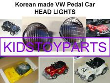 VINTAGE HEAD LIGHTS FOR VW VOLKSWAGEN BEETLE BUG PEDAL CAR