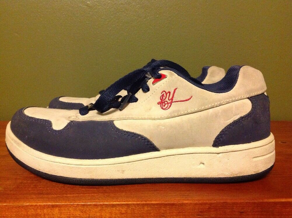 Reebok Daddy Yankee Men's Sneakers Gray Navy Blue Suede Leather Mens 5 Shoes