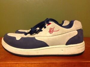 Reebok Daddy Yankee Men s Sneakers Gray Navy Blue Suede Leather Mens ... 1803fe2a1