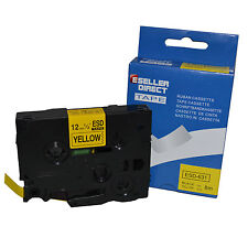 Brother Compatible Label Tape TZ631 TZe631 12mm x 8m for P Touch Printers