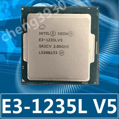 Intel Xeon e3-1235l v5 SR2LM 8MB 4 core 4 thread 25W LGA1151 CPU processor
