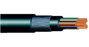 2.5mm 3 CORE SWA STEEL WIRE ARMOURED CABLE 12 MTRS