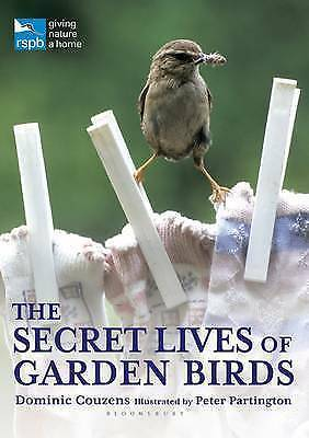 The Secret Lives of Garden Birds (RSPB)-ExLibrary