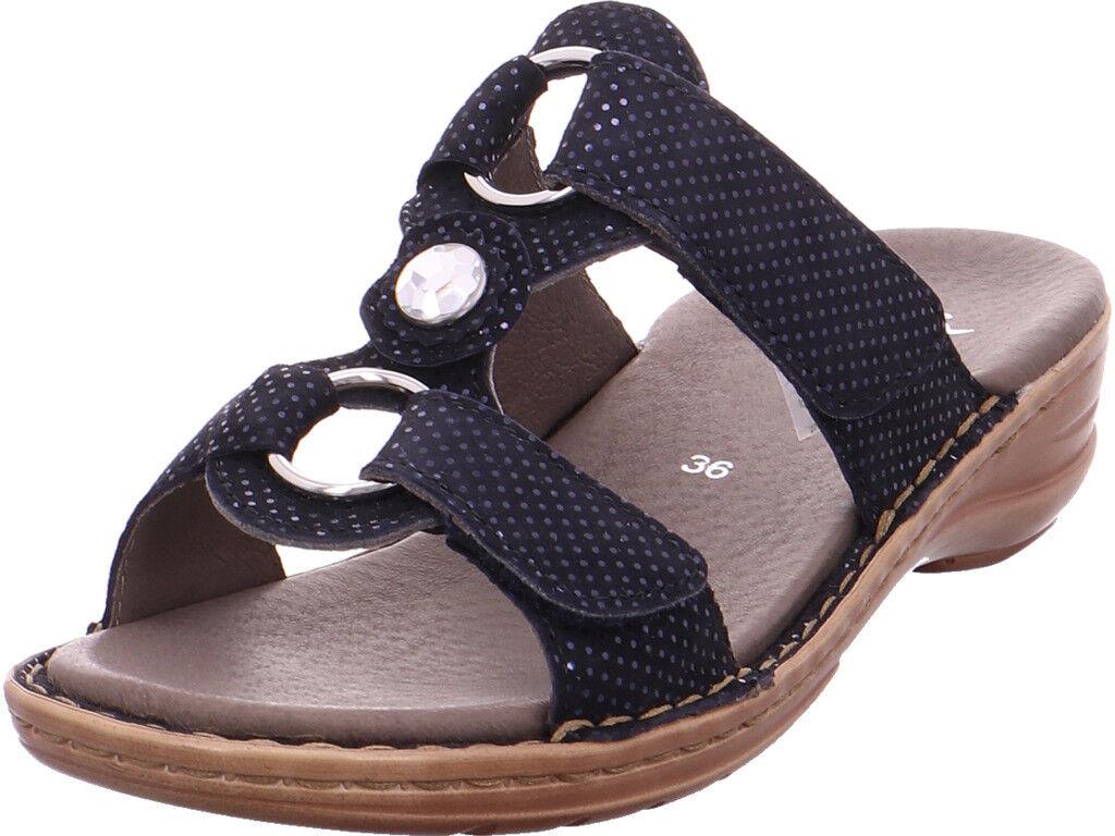 Ara Donna 12-27273-25 Sandali Sandali Pantofole Nero | | | Trasporto Veloce  44ea55