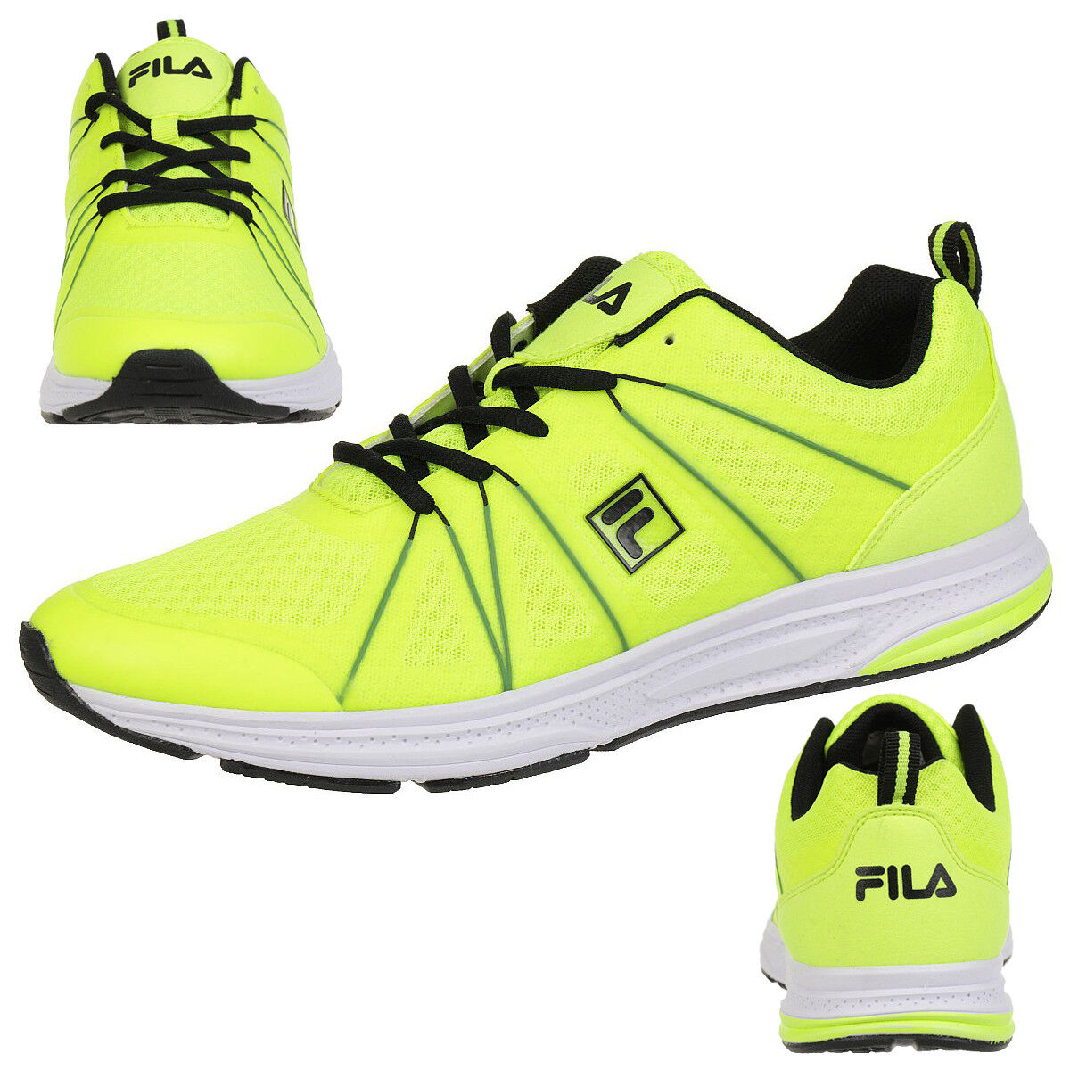 Fila Colt Low Run Laufschuh Running Men Sneakers yellow Comfort Foam