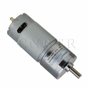 High Torque 12v Dc 200 Rpm Metal Gear Box Electric Motor
