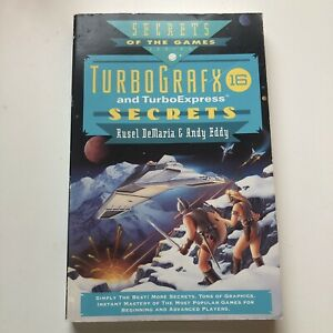 TurboGrafx-16-and-Turbo-Express-Secrets-Strategy-Guide-Book-Rusel-Demaria