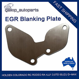 For-Holden-Colorado-RC-Rodeo-RA-4JJ1-3-0-TD-Isuzu-D-max-EGR-Blanking-Block-Plate