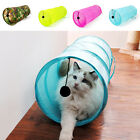Hot Cat Tunnel Outdoor Foldable Tunnel Cave Kitten Rabbit Exercise Play Fun Toys