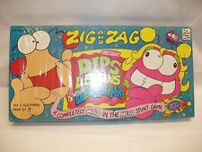 Vintage Zig And Zag Dips Lemons & Utter Deckchairs Mad Stunt Board Game Brand Ne