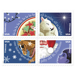 USPS-New-Christmas-Carol-Booklet-of-20