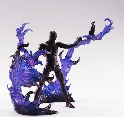 ☀️ EFFECT BURNING FLAME Purple D-Art Figma Kamen Rider gundam 1//6 hot toys