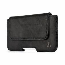 Snakehive® Apple iPhone 5/5S/SE Real Leather Belt Pouch Case Holder