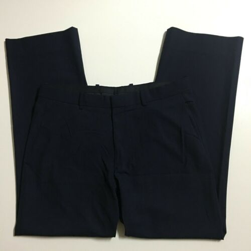 THEORY Men's 34 (36x30) Navy Stretch Wool Casual D