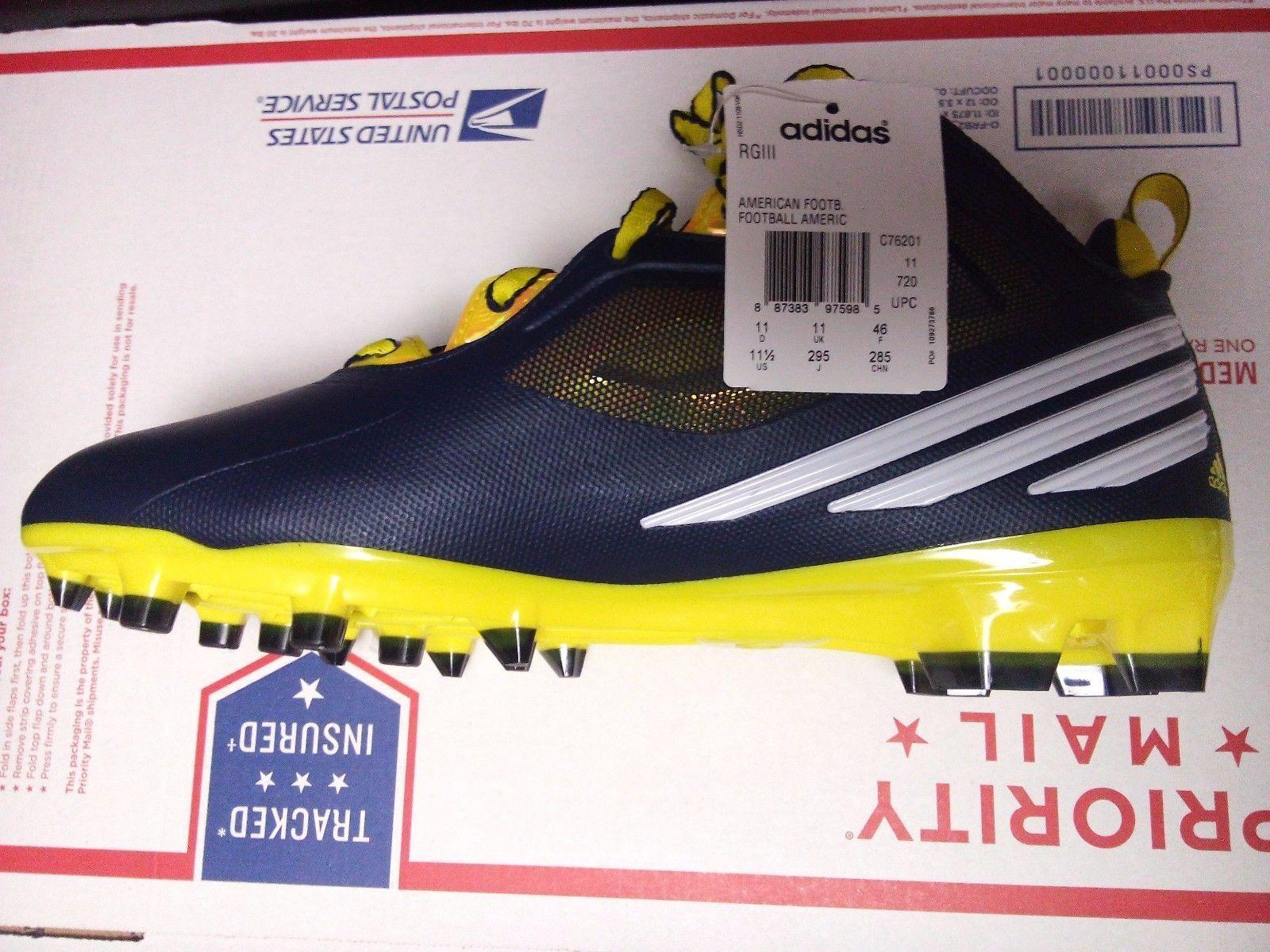 Adidas Adidas Adidas Rgiii RG3 Herren Fußball Stollenschuhe Style C76201 Msrp 11c92f