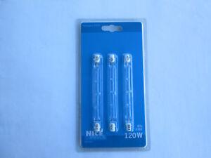 Nice Price 3917 Halogenstab 3 x 120 W Leuchtmittel R7s 117mm Klar 230V