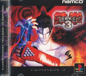 Tekken 3 PS1 Playstation Japanese Import Good US SELLER 722674020794