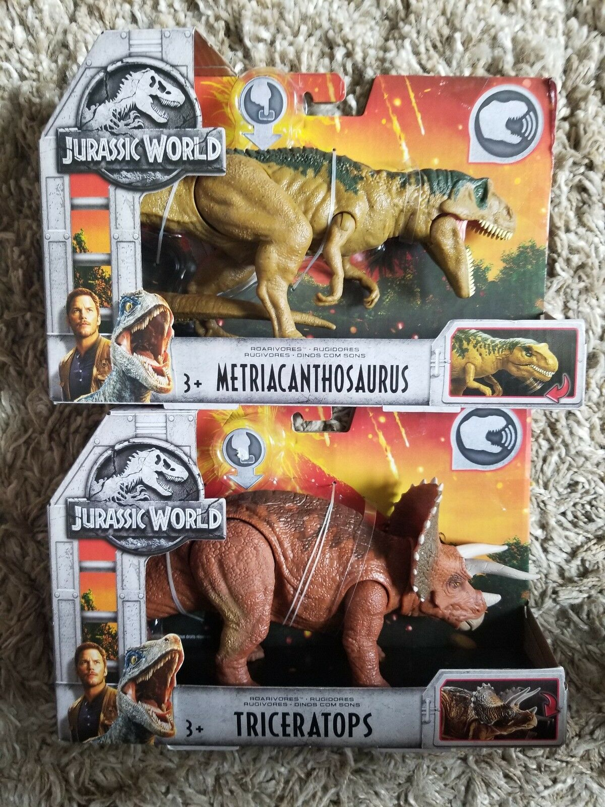 Jurassic Kingdom World Gefallenen Kingdom Jurassic Aktion Figuren Set 2 0a3e7e