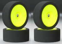 Bsr Racing C8030 30 Dirt Oval Foam Mounted Tires / Wheels (4) 1/8 Buggy on sale