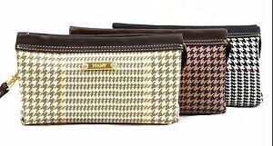 Image is loading 2380641-FFANY-Small-Classy-Genuine-Leather-Italian-Fabric- 32457e5d9d6da
