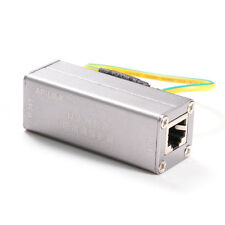 RJ45 Adapter Ethernet Network Surge Protector Device Lightning Thunder Arrester