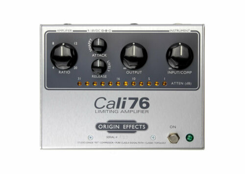 Origin Effects Cali76 TX Premium Style Compressor Pedal