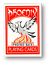Phoenix Red Backs Blank Faces Deck Gaff Karten