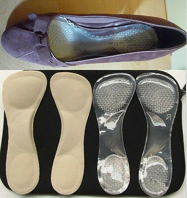 Fashion Orthotic Arch Support Cushion Flatfeet Shoes 3/4 insoles Inserts Pads