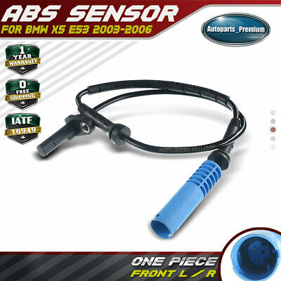 NEW Front Left Right ABS Wheel Speed Sensor fits BMW X5 E53 00-03 34526756379