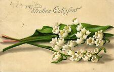 Ostern, Maiglöckchen, versandt von und nach Thorn, 1912