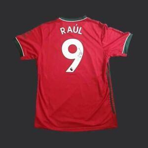 Raul Jimenez Wolverhampton Wanderers Signed  20/21 Shirt