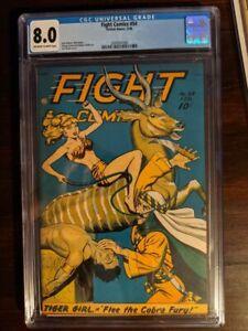 Fight Comics 54 - CGC 8.0